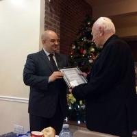 Отец професор Благой Чифлянов с почетна грамота от Р България_4