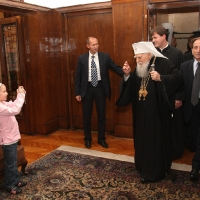 Прием за 95-ия рожден ден на патриарх Максим